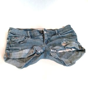 3/$20 Hollister Distressed Jean Shorts